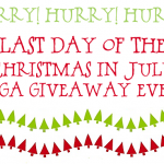 Last Day to Enter!