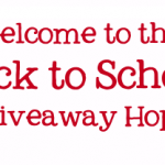 Welcome to the Back to School Giveaway!