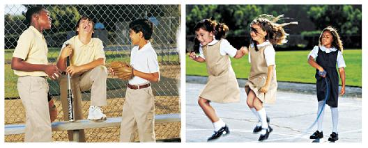 Uniforms for Boys and Girls