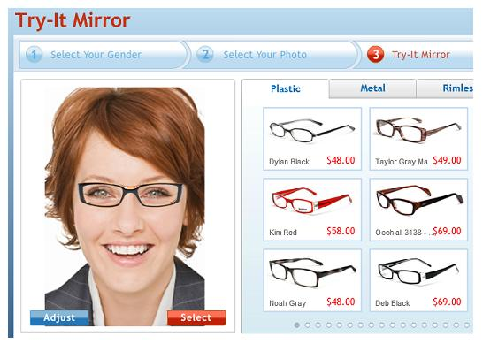 Glasses Frames Fit Your Face : Gallery For > Glasses Frames For Women Face Shape