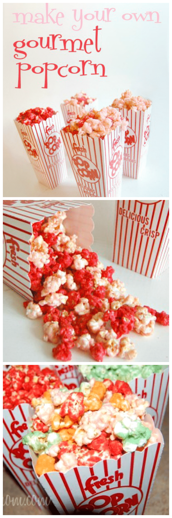 Gourmet Popcorn Easy DIY