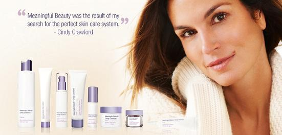 Facial care products cindy crawford