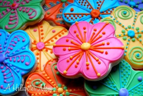 Gallery For gt Flower Cookies Recipe