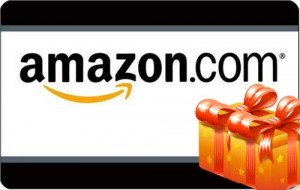 Amazon Gift Card Giveaway at A Helicopter Mom