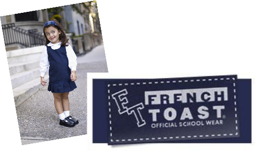 FRENCH TOAST Uniform Review