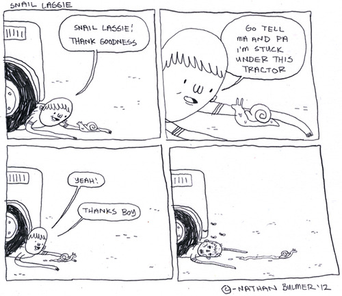 Hilarious cartoons from eatmorebikes.tumblr