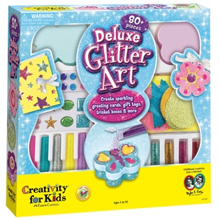 Arts and Crafts Deluxe Glitter Art