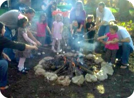Summer Activities for Kids - Making S'mores