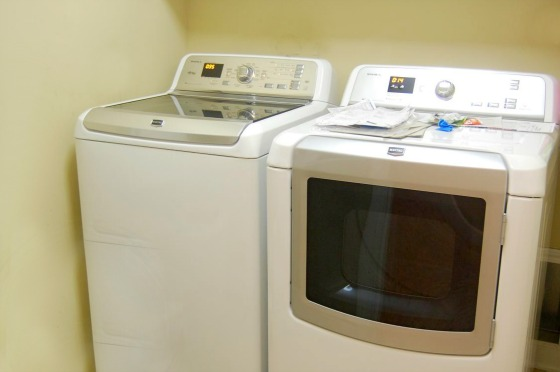 Maytag Washer and Dryer Installed