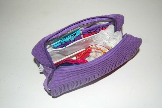 Makeup Bag for Teen's First Period