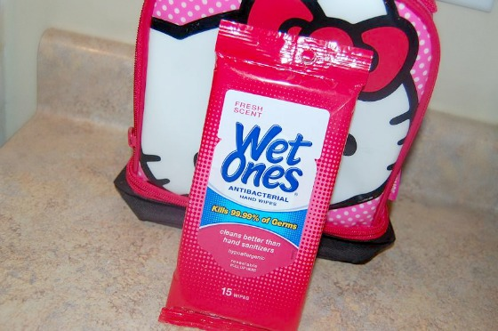 Back to School with Wet Ones