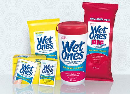Back to School with Wet Ones Travel Sizes