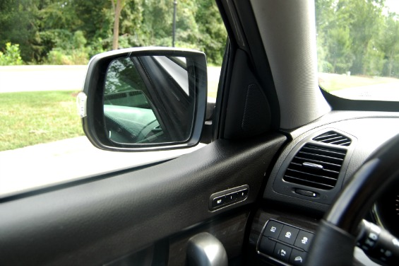 Kia Sorento Review Power Folding Side Mirrors