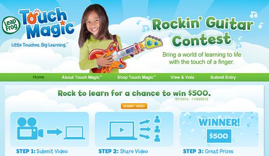 Rockin' Guitar Video Contest