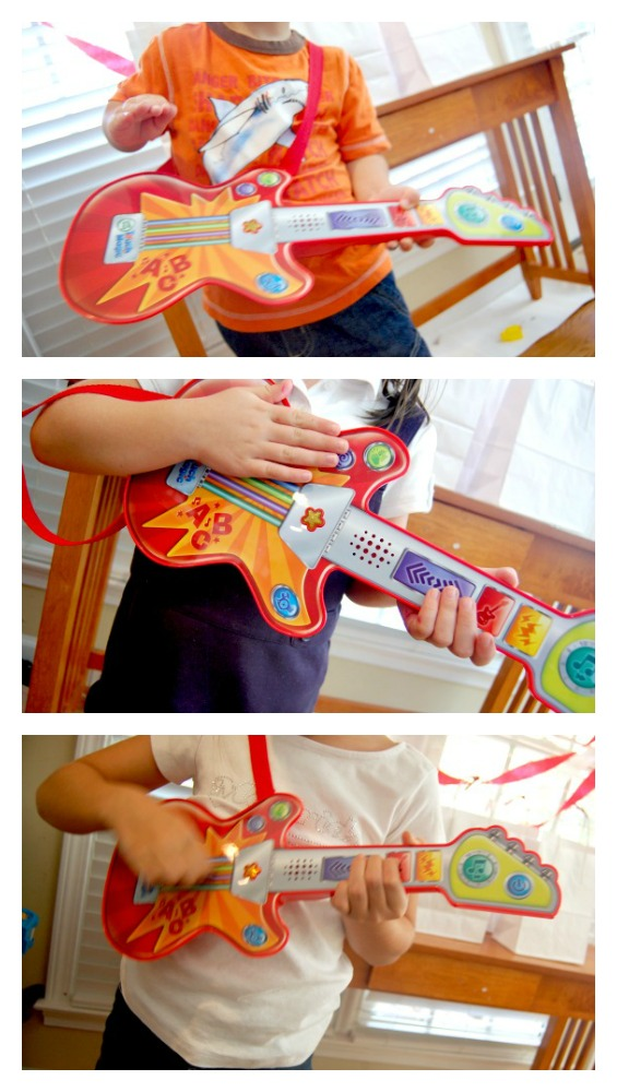 Leap Frog Touch Magic Guitar Rock Stars