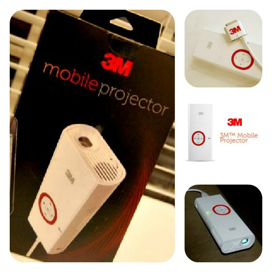 3M Mobile Projector - Outdoor Movies and More