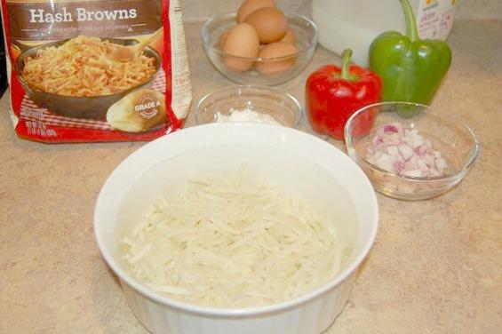 Garden Veggie Frittata Vegetarian Recipe