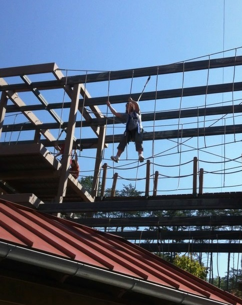 Dollywood Ropes Course