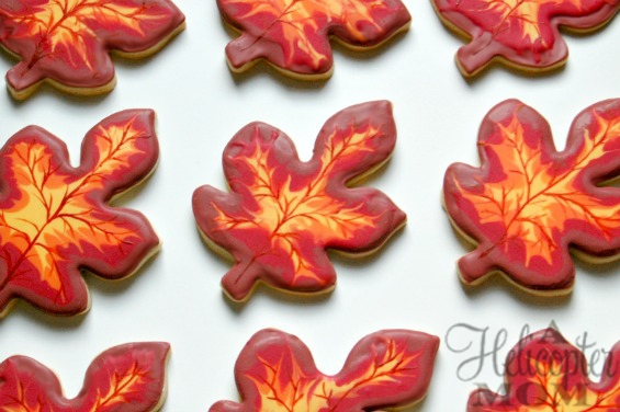 Autumn Cookies by A Helicopter Mom