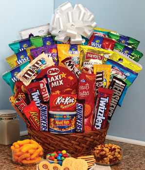 Trick or Treat Giveaway Basket