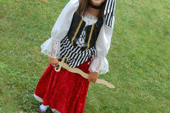 Chasing Fireflies Pirate Girl Costume