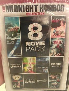 Horror Movie Collection Giveaway
