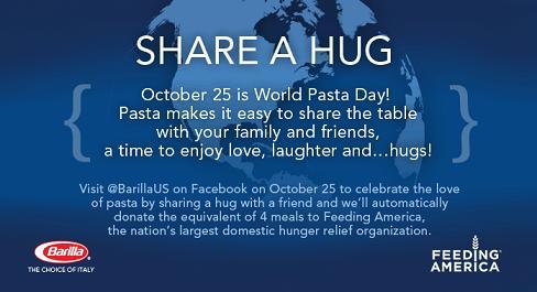 Barilla Share A Hug