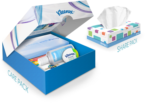 Kleenex Softness Worth Sharing