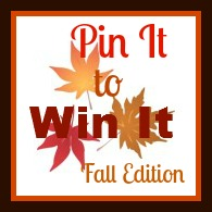 Pin It to Win It Fall Edition Pinterest Giveaway