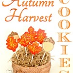Autumn Harvest Hand Iced Cookies