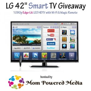LG Smart TV Giveaway