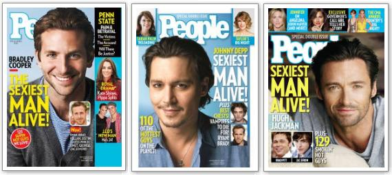 Sexiest Man Alive People Magazine