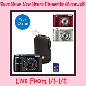 Nikon Coolpix Digital camera Giveaway