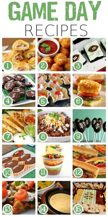 Super Bowl Recipes Game Day Tailgating Food
