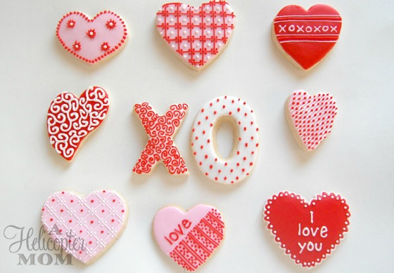 Valentine's Day Cookies - Designs