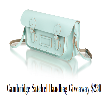 Cambridge Satchel Handbag Giveaway