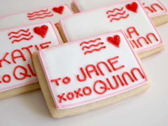 Valentine's Day Sugar Cookie Cards