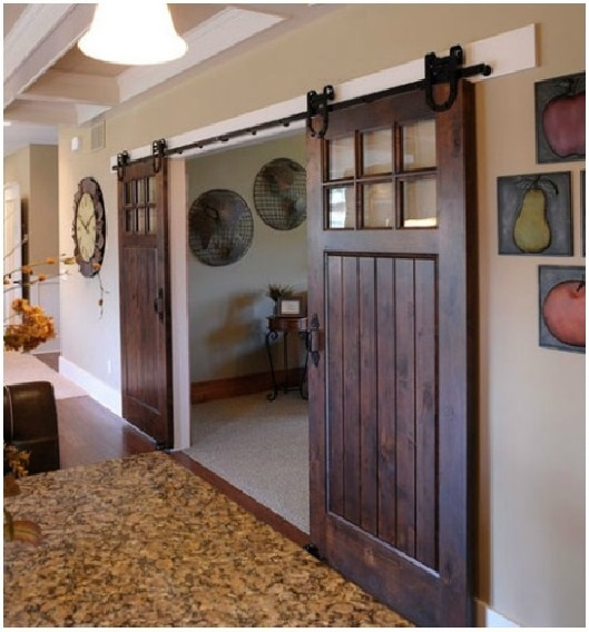 Gorgeous barn doors interior sliding doors a for Barn door pictures