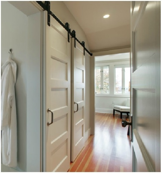 Gorgeous barn doors interior sliding doors a helicopter mom for 5 panel frosted glass interior door