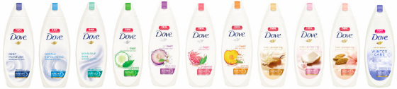 Dove Body Washes