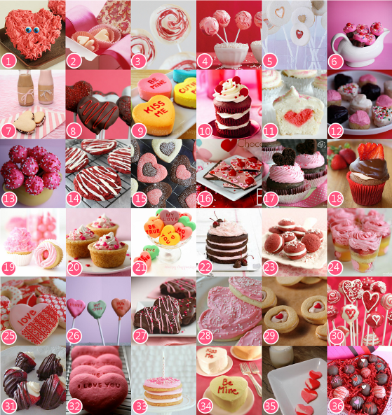 Valentine's Day Recipes Desserts Treats