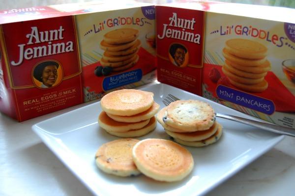 Aunt Jemima Lil Griddles Pancakes