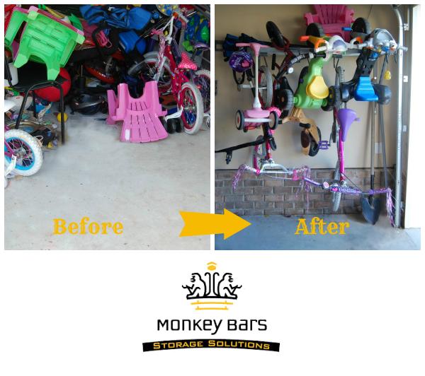 Monkey Bars Storage Giveaway