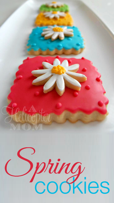 Spring Cookies #Recipe #Cookies #Tips