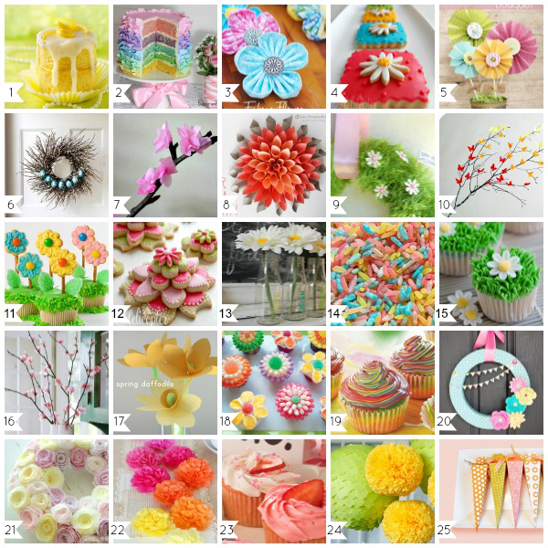 25 Best Spring Crafts, Decorations, Recipes