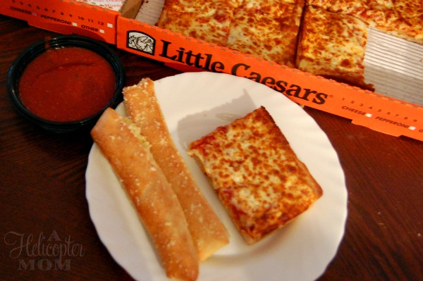 DEEP!DEEP!Pizza at Little Caesars