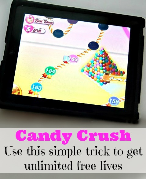 Candy Crush Free Lives - Use this simple trick