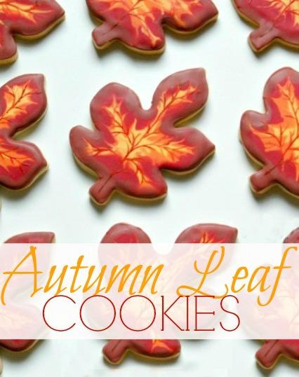 Autumn Cookies Recipe