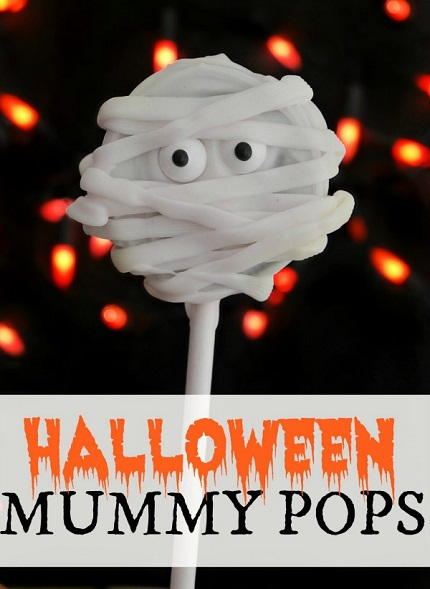 Mummy Pops Halloween Treats