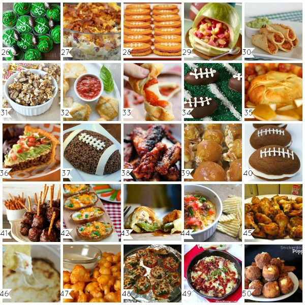 Ball Game Food Ideas